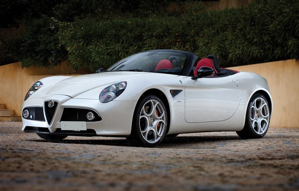 Photo wallpaper Alfa Romeo, convertible, Alfa Romeo