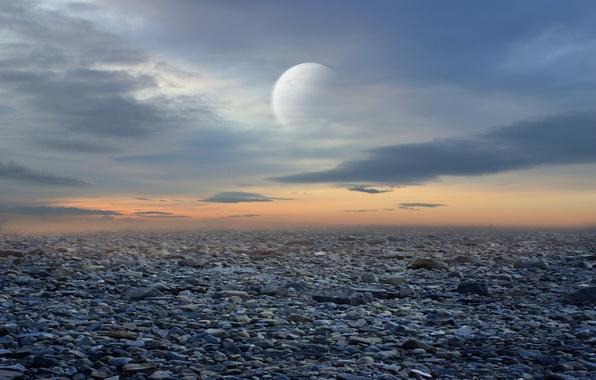 Picture stones, fiction, planet