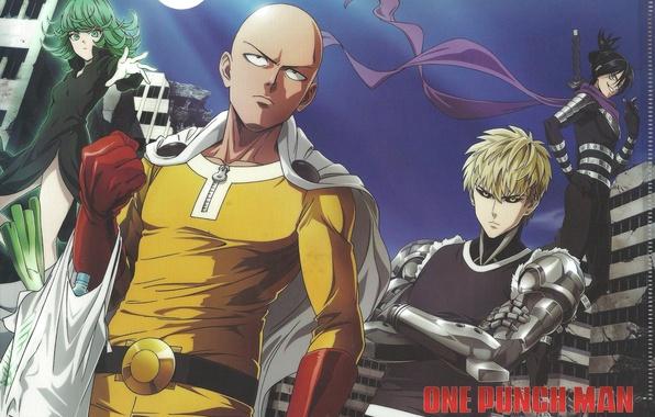 Picture anime, art, sonic, Saitama, OnePunch-Man, Geno, Tornado of Terror, Tatsumaki, Caped Baldy, one punch man, …