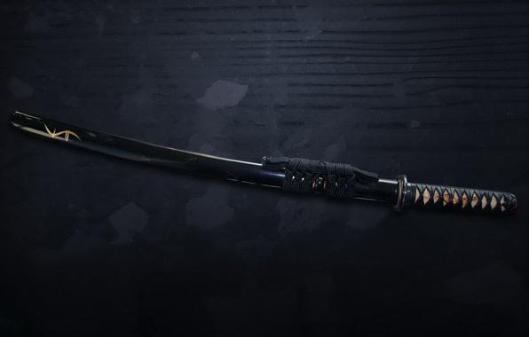 Picture sword, katana, samurai