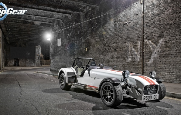 Picture Top Gear, supercar, Seven, the front, the best TV show, top gear, Caterham, Top Gear, …