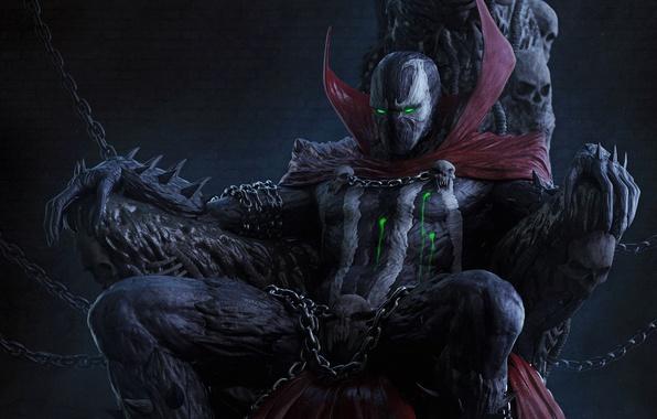 Picture costume, comics, anti-hero, Spawn, spawn