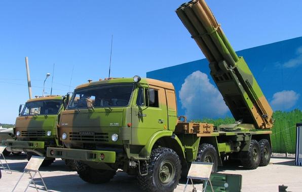 Picture system, 300, Kamaz, KAMAZ, fire, Tornado, MLRS, Tornado, volley, multiple launch rocket systems, MLRS, Jet