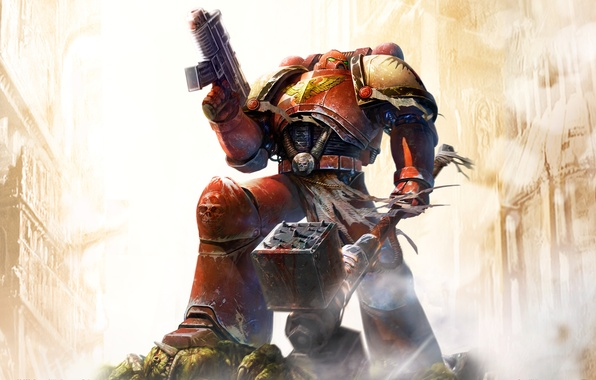 Picture weapons, Dawn Of War, Space Marine, Warhammer