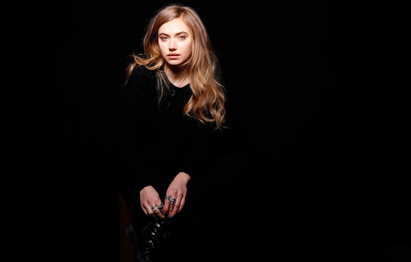 Picture photoshoot, Lola, Imogen Poots, for the film, 2016, Imogen Poots, Frank and Lola, Frank &amp