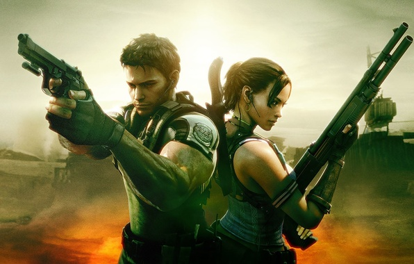 Picture Capcom, Resident Evil 5, PS4, Xbox One