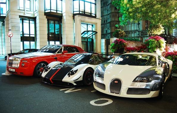 Picture Rolls-Royce, Phantom, Bugatti, Veyron, Pagani, Zonda, Сoupe, Cinque, Centenary, Drophead, Roadste