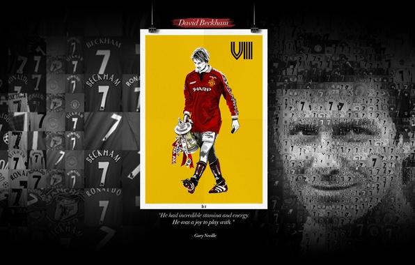 Wallpaper football sport manchester united player - Manchester united david beckham wallpaper ...