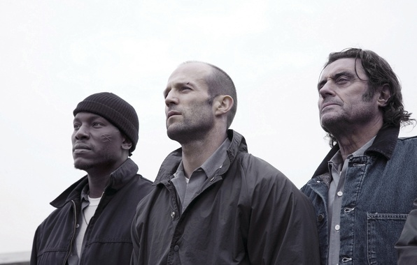 Picture fiction, action, Jason Statham, Jason Statham, Tyrese Gibson, Tyrese Gibson, Death Race, Death race, Ian …