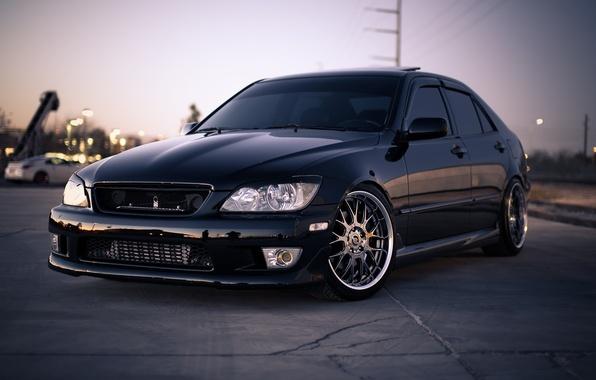 Picture black, Lexus, black, Lexus