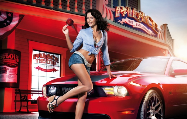 Picture Ford Mustang, 2011, Kristin Zippel, November, Christine Zippel, Miss Tuning