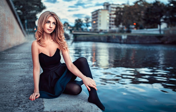 Picture Girl, Light, Beautiful, Model, Beauty, Eyes, Blonde, View, Face, Fashion, Portrait, Hair, Sunny, Natural, Natia