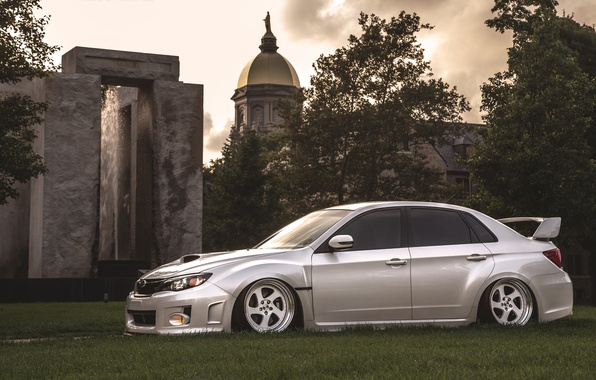 Picture Subaru, Impreza, WRX, STi, JDM, Stance, Low, BellyScrapers, Rotiform