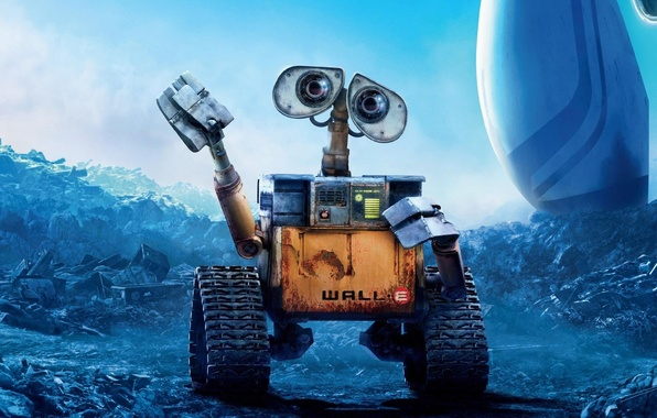 Picture wall-e, pixar, animation