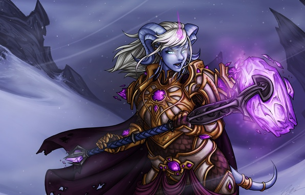 Picture World of Warcraft, Warcraft, Wow, Draenei, Yrel, Exarch Yrel
