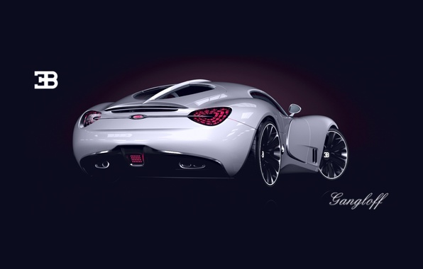 Picture Concept, Bugatti, The concept, Bugatti, Sports car, Sportcar, Gangloff, Gangloff