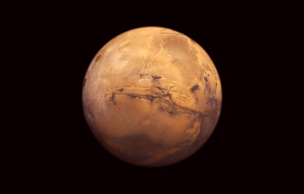 Picture planet, Mars, red