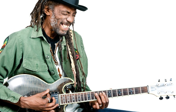 Picture music, guitar, singer, musician, dreads, Freddy Flint