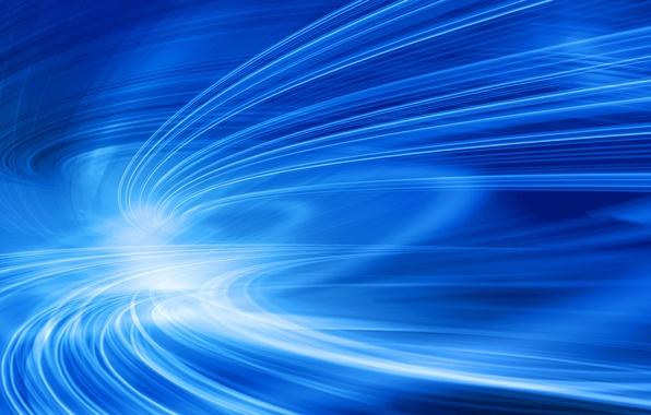 Picture transparency, line, blue, movement, curves