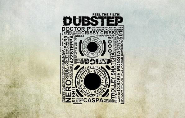 Picture music, the inscription, jazz, rock, words, pop, cassette, rap, hip hop