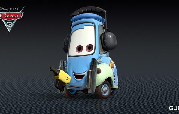 Picture cartoon, cars, pixar, disney, guido
