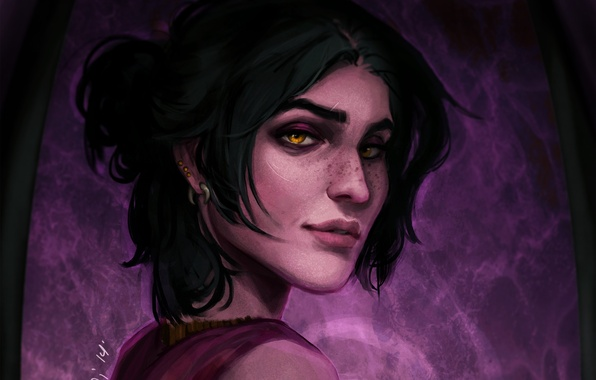 Picture face, witch, dragon age, morrigan