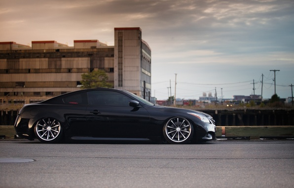 Picture Infiniti, drives, side, infiniti, tuning, vossen, G37