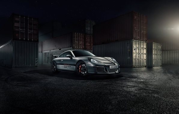 Picture 911, Porsche, Stars, Front, GT3, Supercar, Ligth, Nigth, Russland