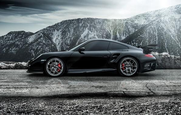 Picture 911, Porsche, Porsche, side, Carrera, Turbo, Carrera, 2015