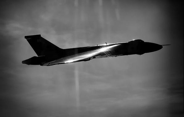 "Photo wallpaper bomber, strategic, Avro Vulcan, ""Volcano"""