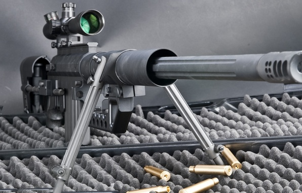 Picture weapons, cartridges, sleeve, sniper rifle, CheyTac m200 Intervention