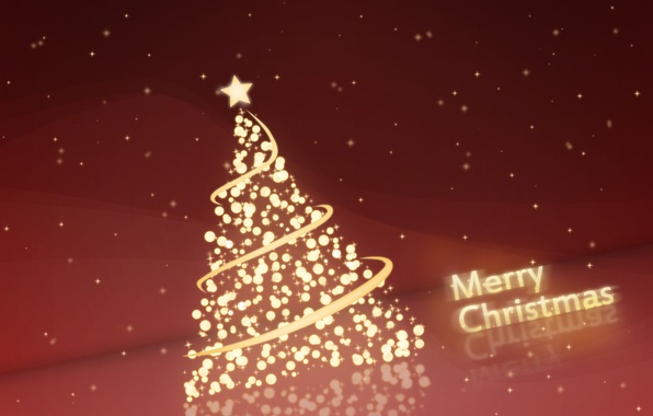 Picture the inscription, graphics, tree, new year, Christmas, tree, congratulations, merry christmas