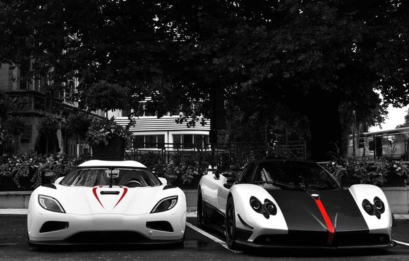 Picture Pagani, supercars, zonda, cinque, koenigsegg, agera r