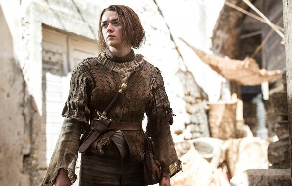 Picture the series, Game of Thrones, Game of thrones, Arya Stark, Maisie Williams, Maisie Williams, British …