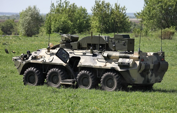 Picture field, machine, combat, anti-sabotage, Typhoon-M, BPDM