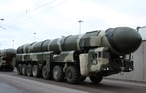 Picture Russia, rocket, complex, Topol-M, THE ARMED FORCES, SRF, strategic purpose