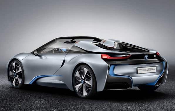 Picture background, bmw, BMW, concept, the concept, supercar, rear view, spider, spyder, ай8