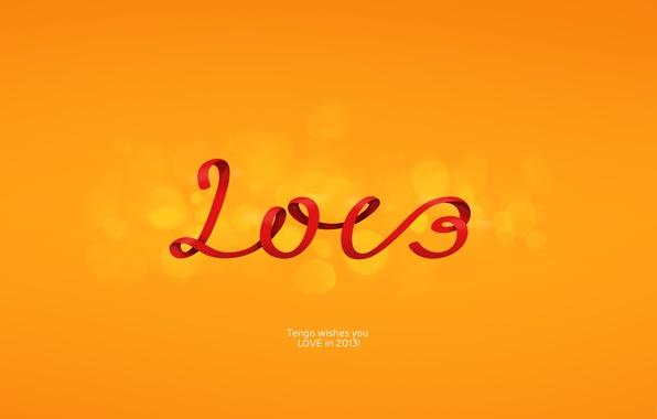 Picture love, new year, orange, happy new year, oranzhevy, LOVE, 2013, tengo