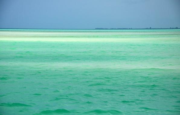 Picture sea, nature, Caribbean, the ocean.landscape