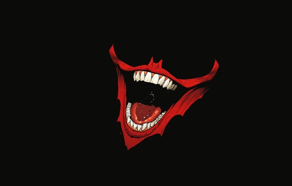Picture smile, batman, teeth, joker