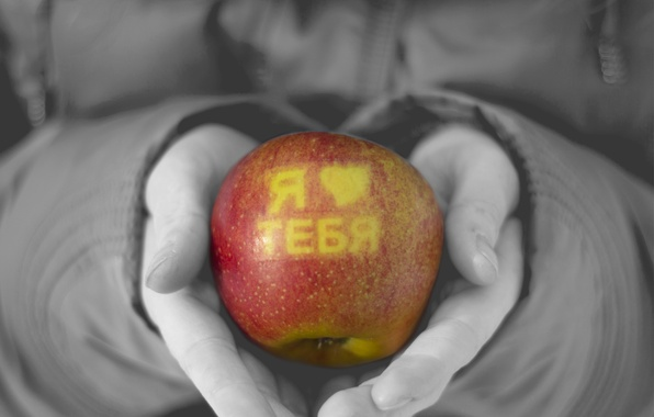 Picture love, Apple, feeling