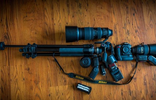 Picture Nikon, Machine Gun, Gear