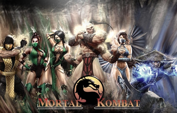 Picture Mortal Kombat, Mortal Kombat, Kitana, Goro