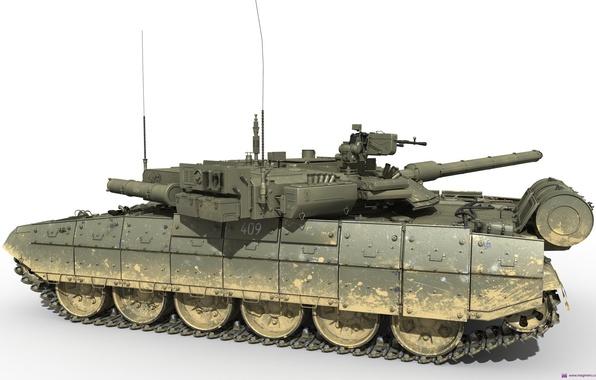 Picture Tank, Object 148, Armata, Platform
