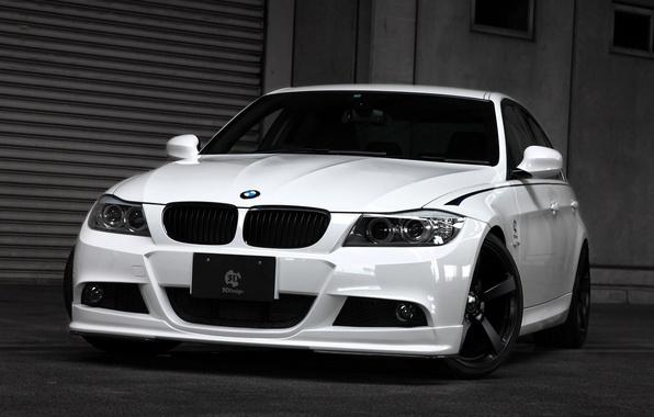 Picture lights, BMW, the hood, BMW, sedan, Sedan, E90, 3 Series, 2014, 3D Design
