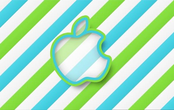 Picture Apple, Minimalism, Strip