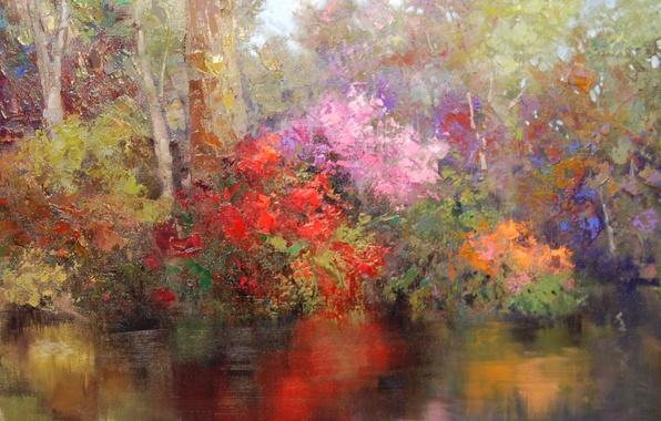 Picture art, Sean Wallis, Along The Lake