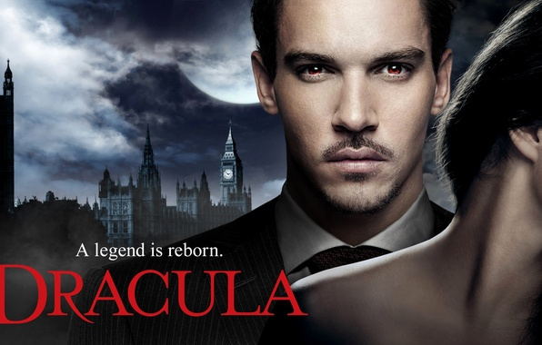 Picture girl, England, London, brunette, actor, male, the series, Dracula, Dracula, Jonathan Rhys Meyers, Jonathan Rhys …
