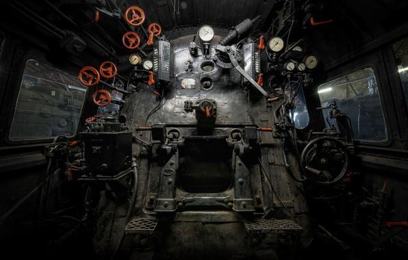 Picture abandoned, Trains graveyard, ancien