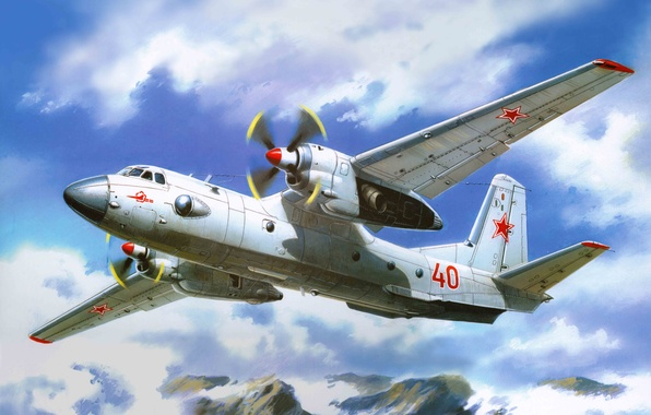 Picture the plane, art, vortex, USSR, power, model, BBC, armed, Soviet, transport, Antonov, is, nickname, military, …